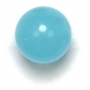 Semi-Precious 10mm Round Reconstructed Aqua Quartz